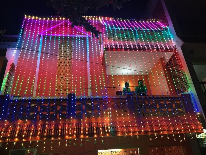 The Orange house, centre ville Pondicherry