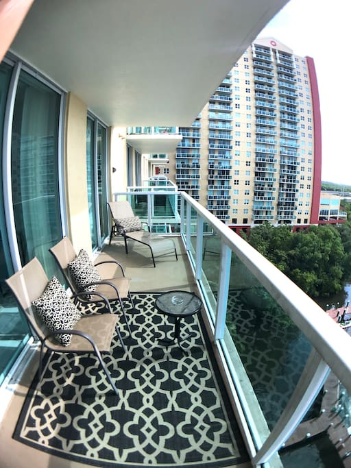 Relaxing Balcony