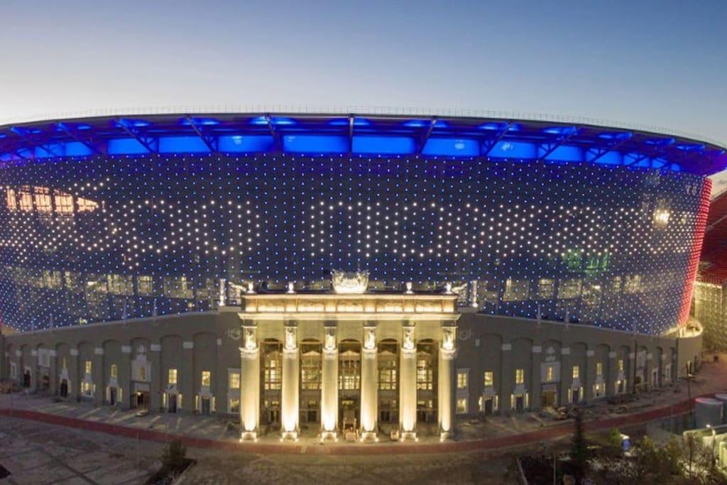 центральная арена Екатеринбург FIFA 2018