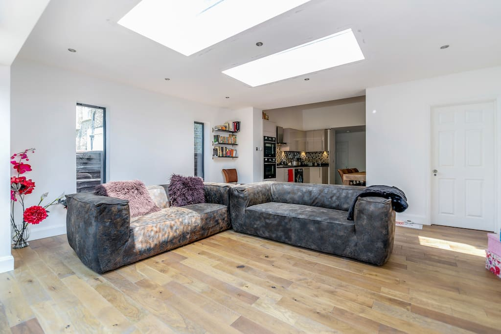 Relax in the shared living room