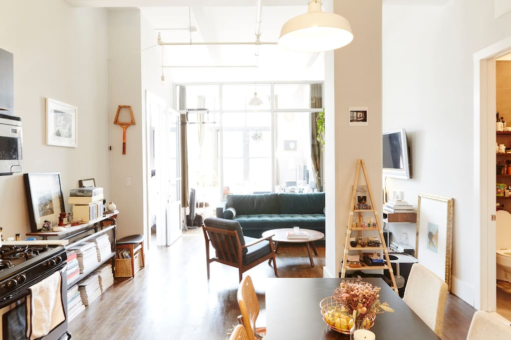 Kitchen/Dining Room & Living Room