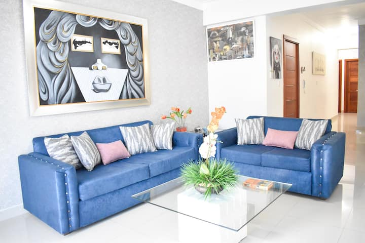 |ME COMFORT| 3 BR with Private Terrace & parking