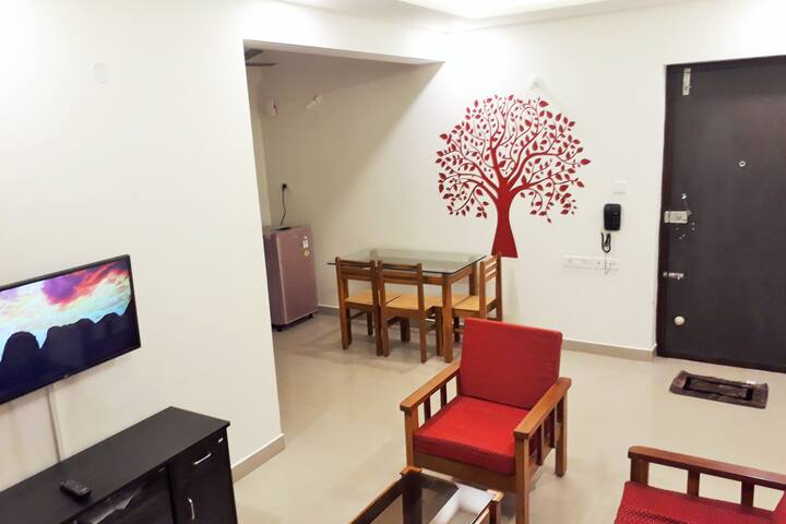 2 Bedrooms - Full Apt / Flat for Rent in Mangalore