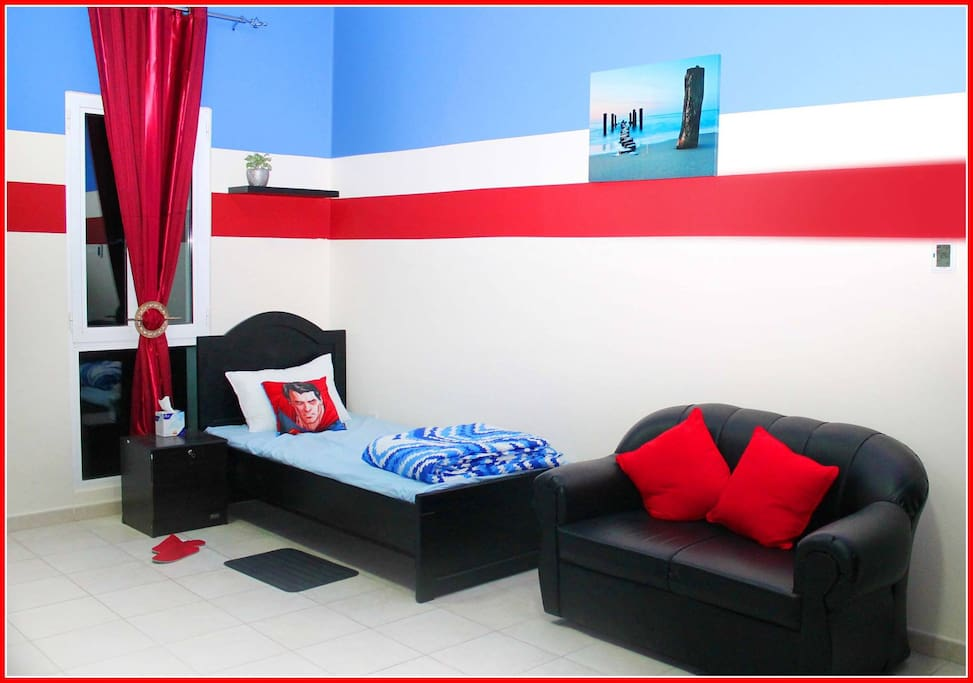 3 Bed Sharing Room