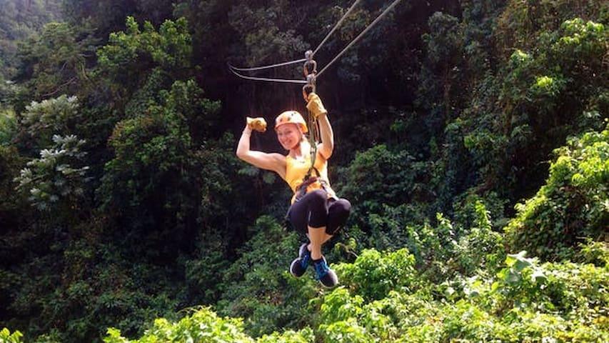 Having fun  in Utuado and more....