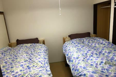 Standard twin room【Guesthouse Angosō】