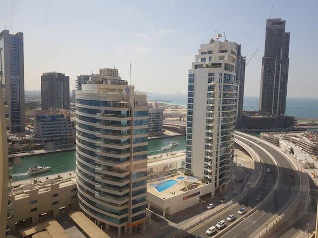 Beachfront apartment in the famous JBR of Dubai