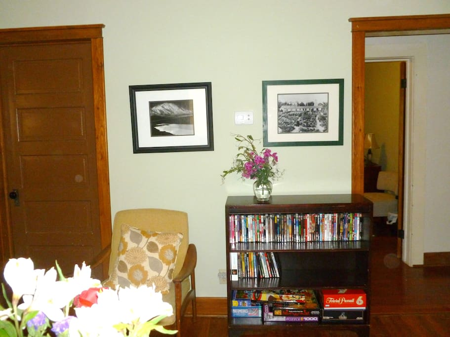 Another view of living/dining room area