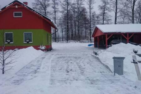 Chata u Huberta s finskou saunou - Štíty - 独立屋