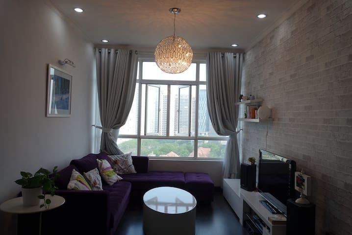 Stylish Apartment near Phu My Hung - Ho Chi Minh City - Apartamento