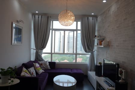 Stylish Apartment near Phu My Hung - Ho Chi Minh - Huoneisto