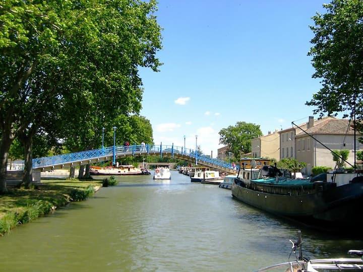 Maison - Canal du Midi Narbonne Carcassonne