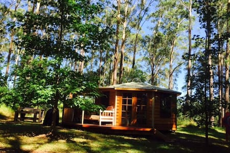 Funky Yurt on Acreage, Erina - Cottage