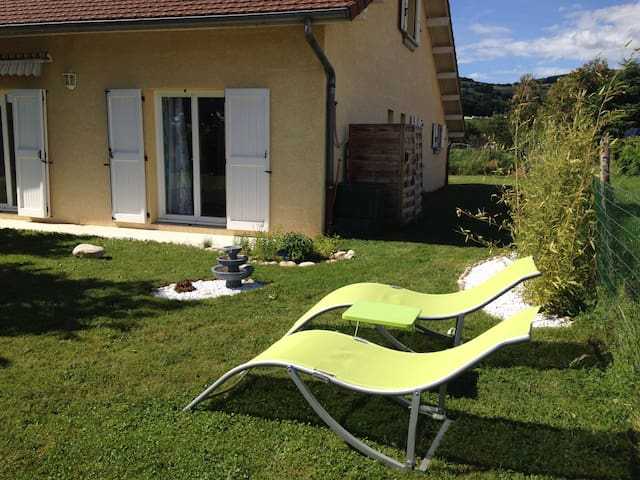 La maison, à 40 mn de Grenoble