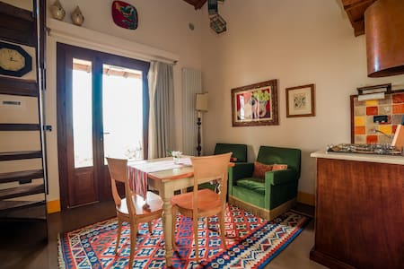 Elegant and comfortable loft apartment at L'Olmo - Lejlighed