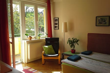 Bright double room for rent in the heart of Buda - Budapest