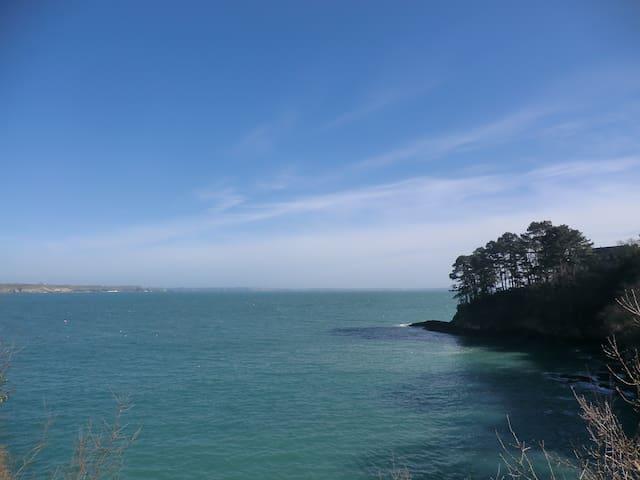 Agréable T3 vue mer (56m2) au TREZ HIR