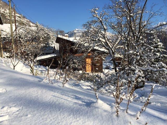 chalet neige et nature en Maurienne ( Savoie) - Saint-Etienne-de-Cuines