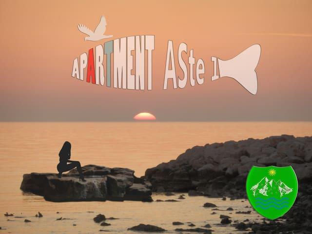 Apartments ASte, Velebit and Sea