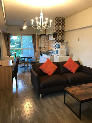 2Bedroom 4min on foot to Station /Free parking