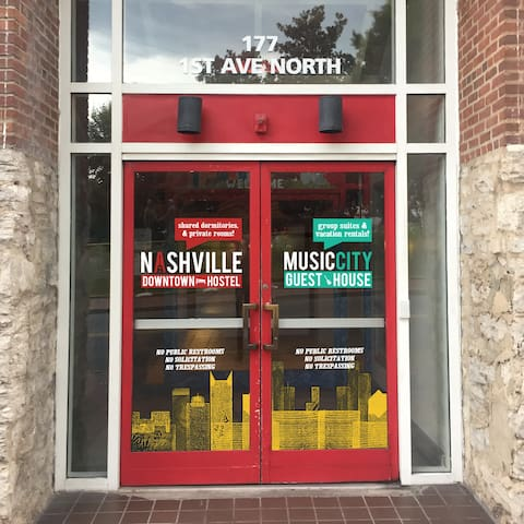 Located at 177 1st Ave North, we are in the heart of Downtown Nashville.