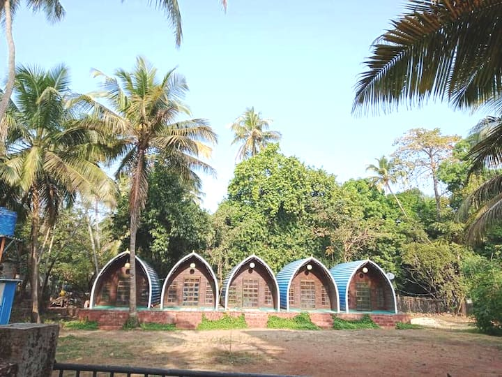 Dome shape rooms for rent at Malvan from @ 2750-