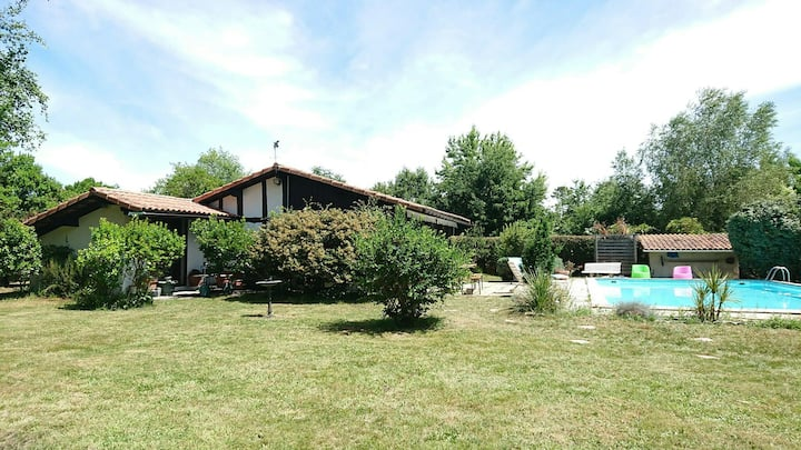 Maison landaise 160 m2