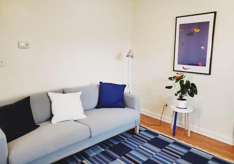 Cozy Liberty Park Apartment