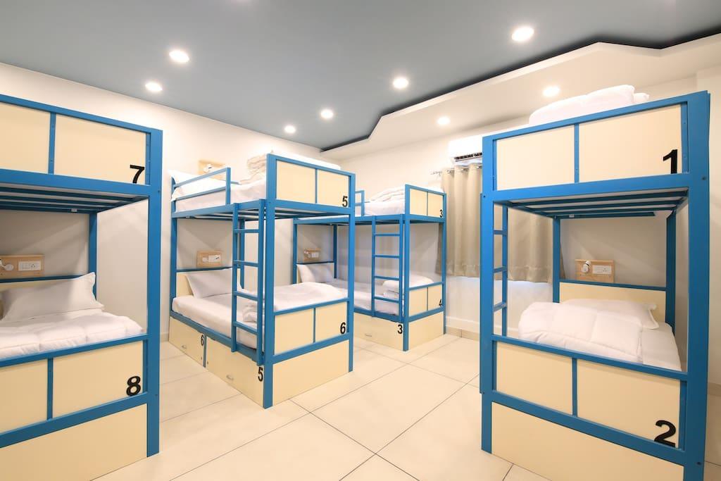 10 Bed Mixed Dormitory Room