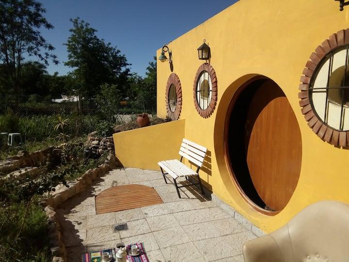 Alquiler de casa estilo  Hobbit de Molinari