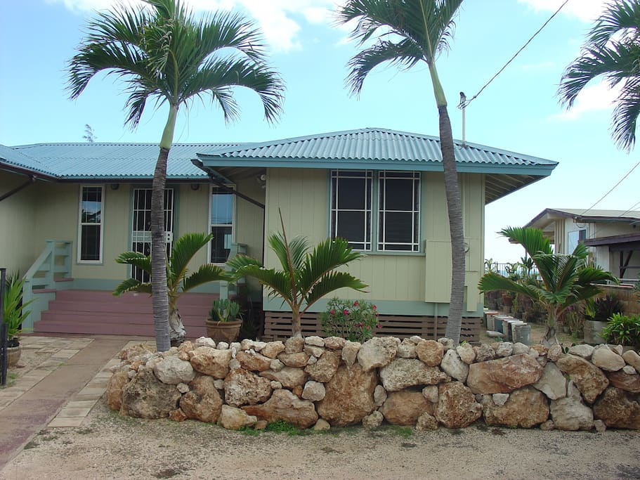 Upgraded classic home on a beautiful white sandy beach.
