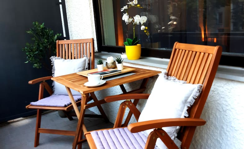 DA City. Schönes Apartment für Paare & Reisende
