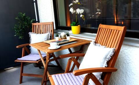 Gemütliche Wohnung für Paare & Reisende, DA City