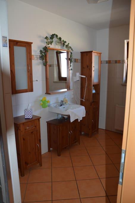 Badezimmer Panoramablick