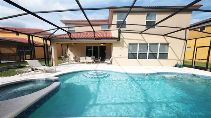 ★Cozy Villa★ 6BR /Pool & Spa at Premium Resort