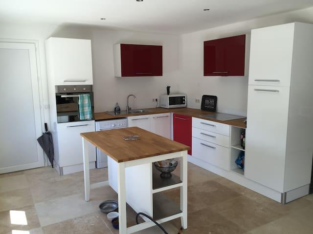 Chambre dans tres jolie villa au calme - Lançon-Provence - Apartment