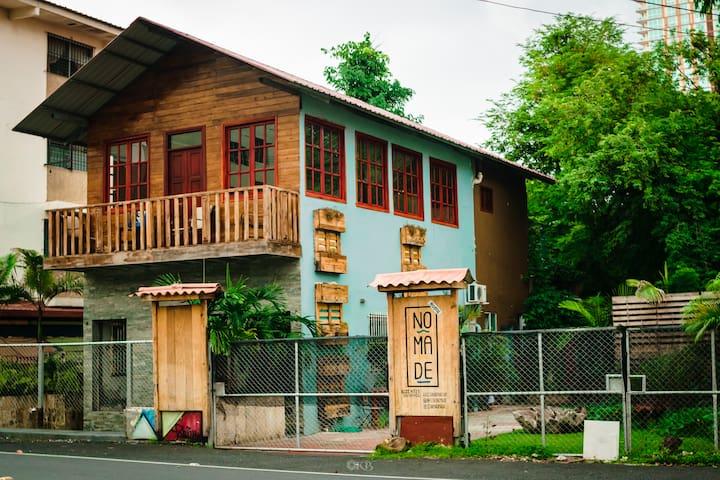 Hostal Nomade, oasis en pleno centro de la ciudad