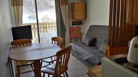 Location appartement Gourette face aux pistes