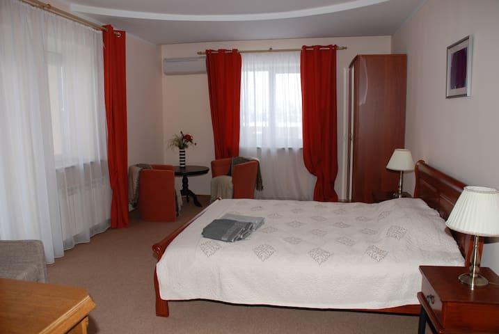 Просторные апартаменты с балконом - Vilna - Bed & Breakfast