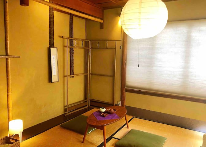 private room in Japanese traditions style