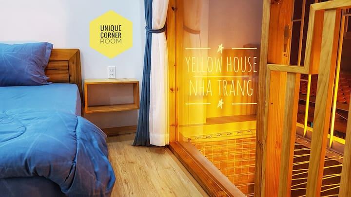 CORNER ROOM[YellowHouse] - Downtown,200m to beach
