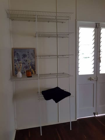 Clothes shelves in your room