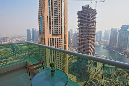 New 1BD with beautiful Marina view 27 floor - Dubai - Apartment
