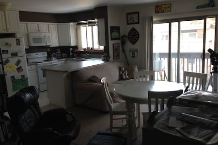 Spacious apt/room near downtown EL - East Lansing - Lejlighed