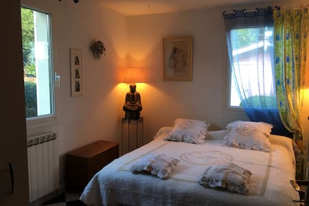 Chambre indépendante  2 lits,Lyon Vaugneray - Vaugneray