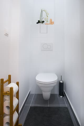 Separate Toilette - separate toilet