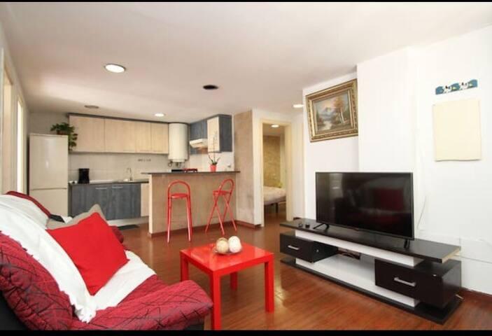 BONITO PISO DE 3 HABITACIONES - El Arenal - Apartamento