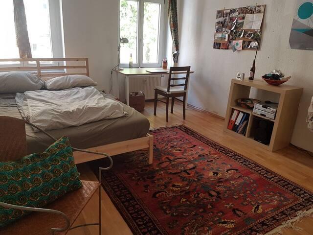 Zimmer in freundlicher WG im Leipziger Osten