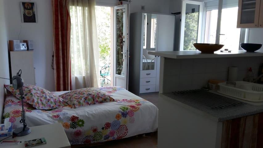 Studio confortable dans une pinède au calme - Prades-le-Lez - Huoneisto