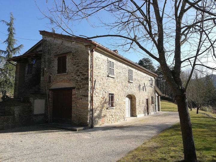 Casa vacanze in campagna fra Toscana e Romagna